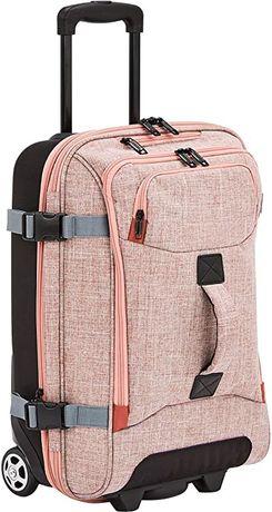 Куфар,пътна чанта с колела,цвят сьомга