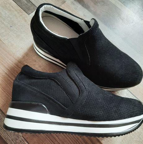 Pantofi platform + CADOU ruj