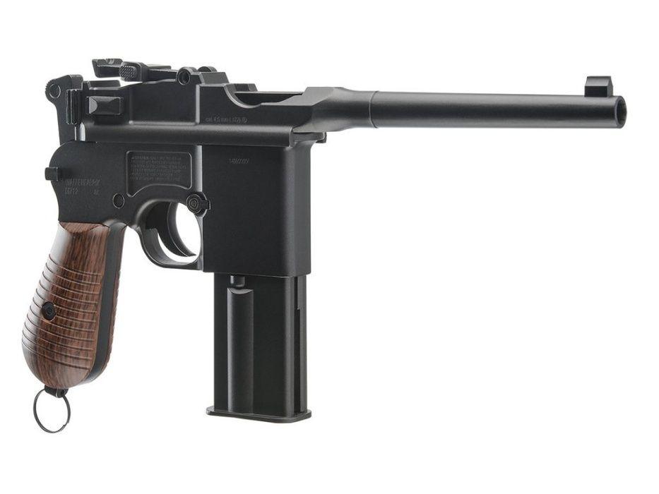 Pistol CO2 MAUSER C 96  M E T A L -Semi Auto- Blowback- 1An Garantie