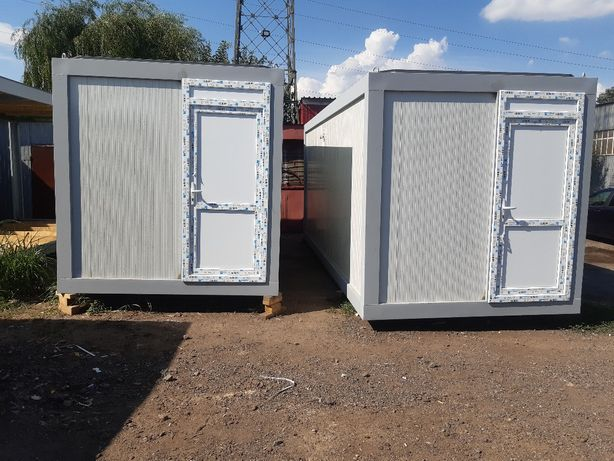 Container birou monobloc santier depozitare cabina paza fast food