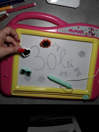 Tabla mare de scris Minnie