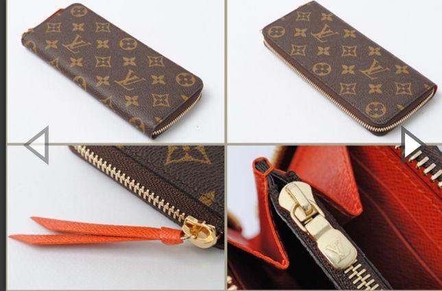 Portofele Louis Vuitton piele naturală 100%,cutie,card,etichetă,sacule