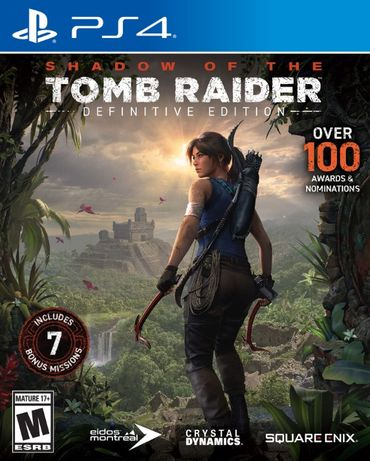 Shadow of the Tomb Raider Definitive / PS4 / Игра / Нова /Playstation4