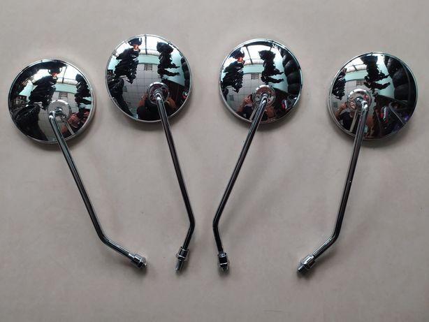Новые, Хромированные Круглые Зеркала для Мототехники! Большой выбор!