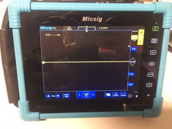 Осцилоскоп андроид MicsigTO1104 4x100Mhz 1Gsample