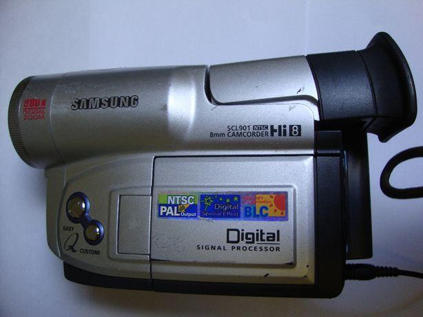Cablu AV, camera, alimentator si husa.