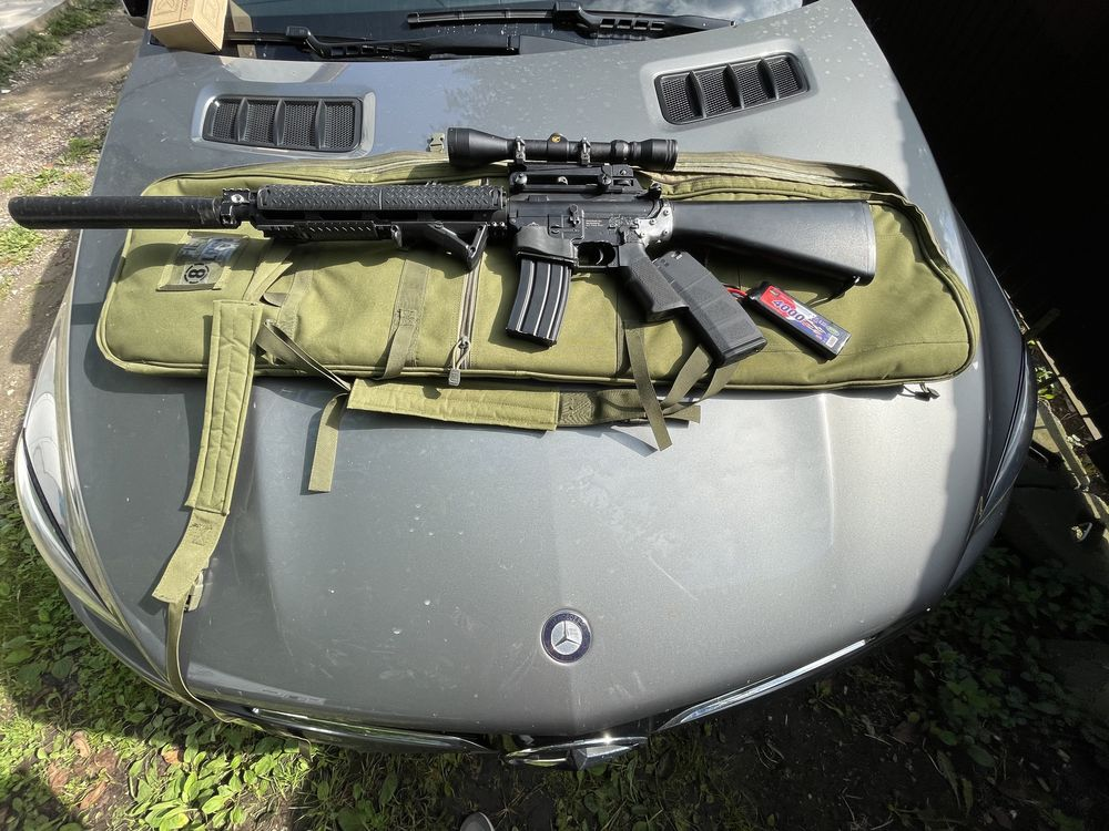 M16 dmr custom airsoft