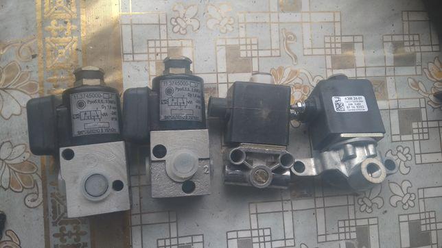 Электроклапанна на КамАЗ