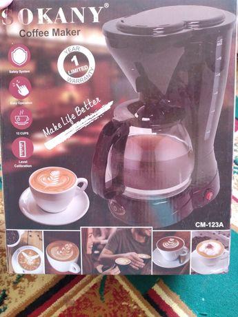 Кофеварка почти новый