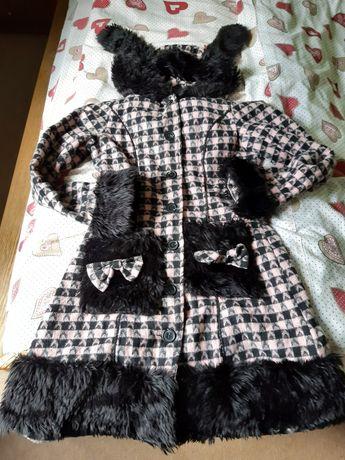 Palton fete 10 -13 ani