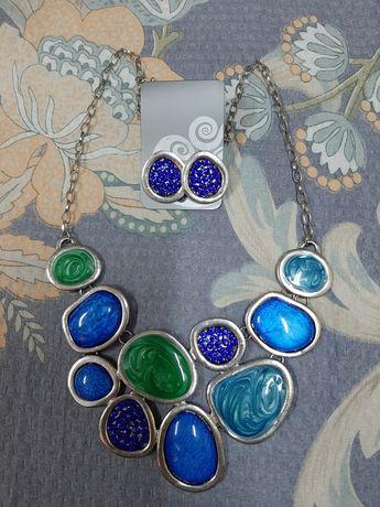 Продам новый комплект ожерелье и серьги