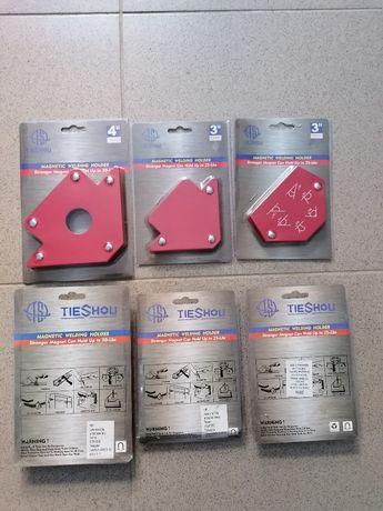 Магнити за заваряване, ръкохватки и други