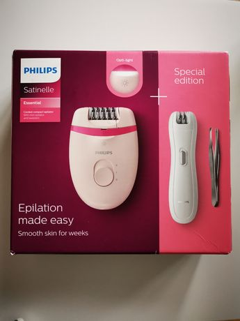 Epilator Philips Satinelle Essential + Special Edition