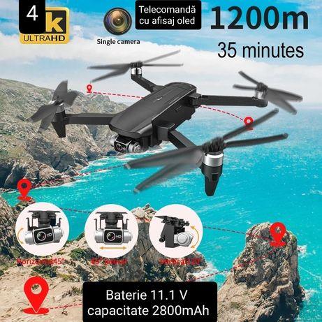 Drona  Camera Sony 4K,gimbal 3 axe , 1200m ,Zbor 35 min,GPS,5G, Noua