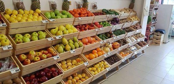 Стелаж за плод и зеленчук