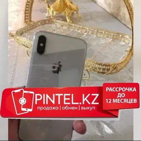 Рассрочка APPLE iPhone xR , 128gb silver , айфон xR ,128, Серебряный-=