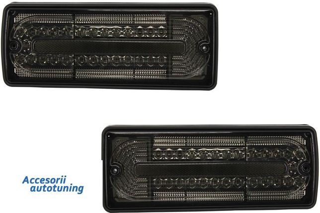 Set Stopuri Full LED Mercedes W463 G-Class (1989-2015) Fumuriu NOU