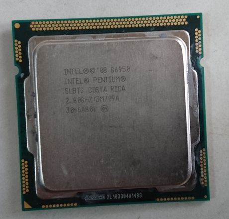 Procesor G6950 2.8Ghz ,2cores 3Mb Cache Socket 1156