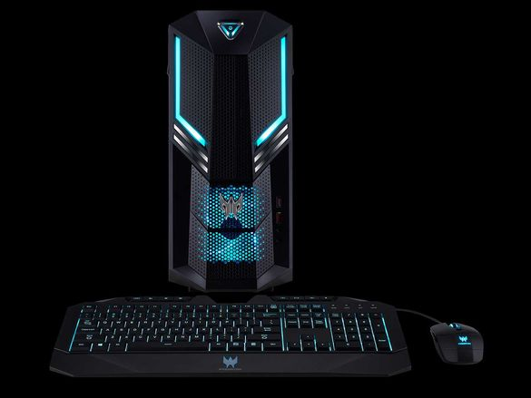 Геймърски компютър с видеокарта RTX 3060 - Acer Predator Orion