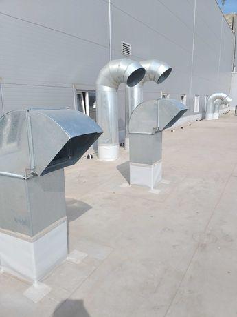 Вентиляция изготовление,монтаж.Алмазное бурение.Теплоизоляция.