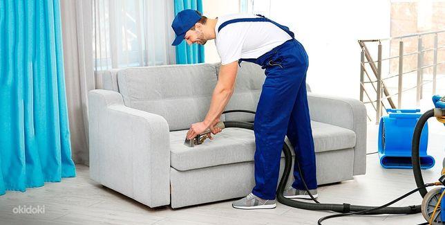 Профессиональная химчистка дивана, мягкой мебели, матрацев, кресел!!!