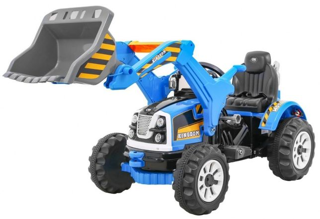 Tractor electric pentru copii (328) Albastru