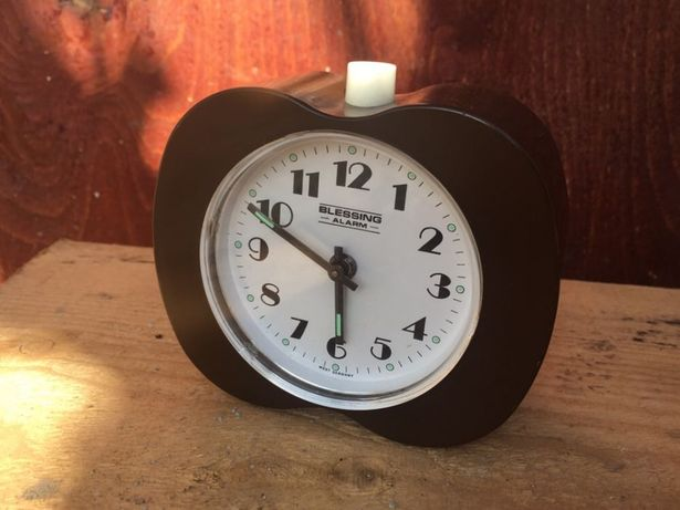 Blessing ceas vechi mecanic cu alarma West Germany