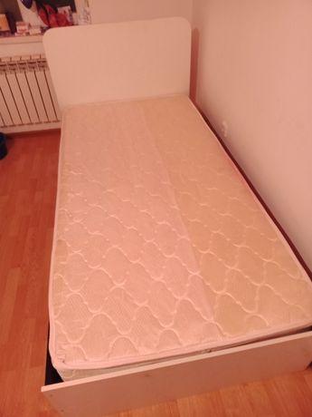 Продам полуторка кровать с матрасом