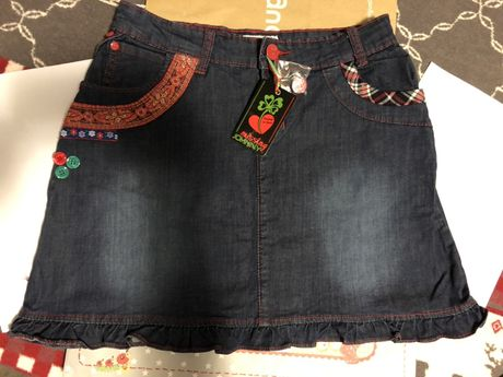 Fusta Jeans Missing Johnny (Spania) marime XS (echivalent 36)