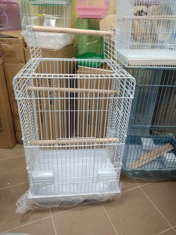 Голяма клетка (кафез) с отваряем покрив за среден или голям папагал