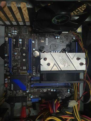 система i5 4460, 16гб DDR3, MSI Z97, GAMMAAXX 200