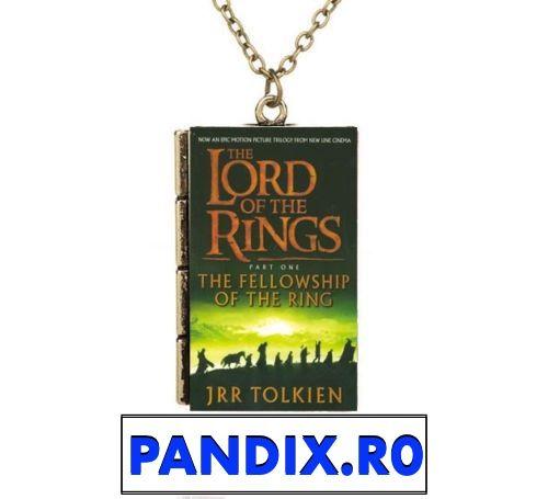 Pandantiv / Colier / Lantisor - Lord Of The Rings / Stapanul Inelelor