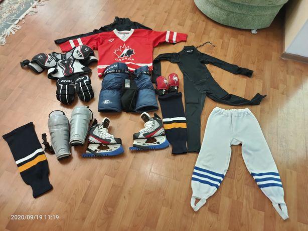Хоккейная форма для детей 7-8 лет