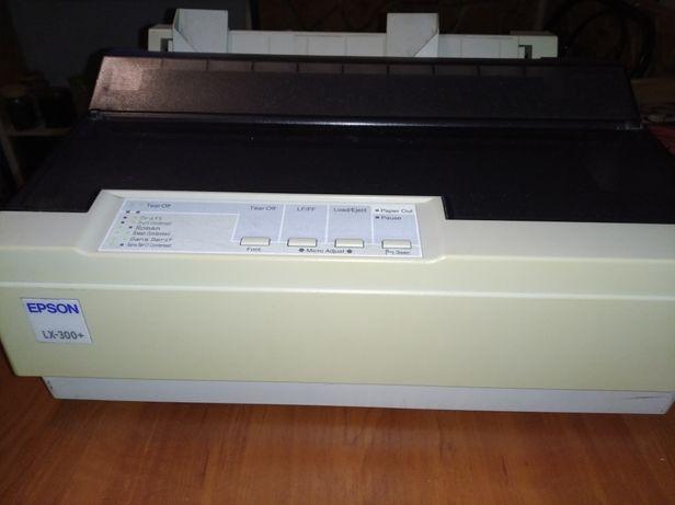 Принтер матричный EPSON  LX-300+