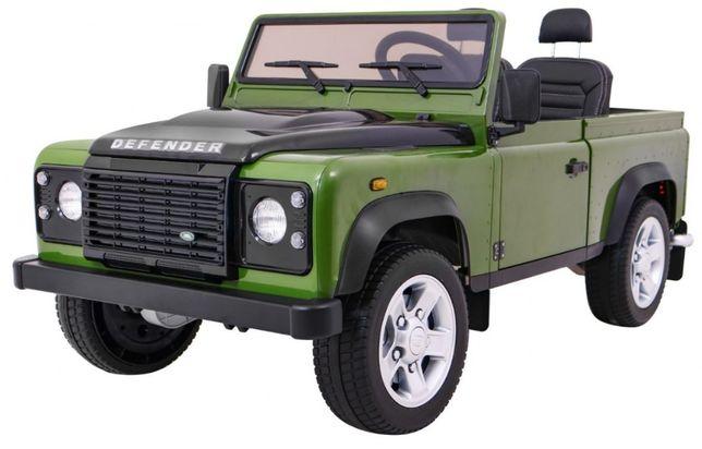 Masinuta electrica pt copii Land Rover DEFENDER 4x4 (328) Verde inchis