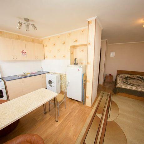 1 Ком. Квартира Почасам от Vita Haus. Р-н: Колхозного Рынка. КТВ/Wi-Fi