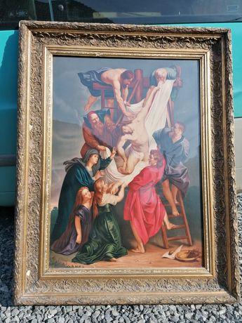 Vând pictură veche în stare impecabilă