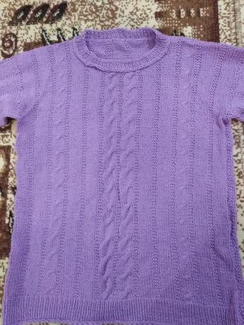 Зимни плетени пуловери