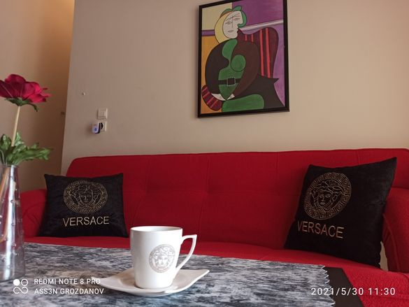 Стилен апартамент в Паралия Офринио