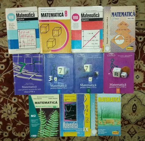 Carti matematica clasele (VII,VIII,IX,XI)