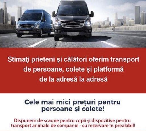 Transport REGULAT de persoane catre AUSTRIA/GERMANIA