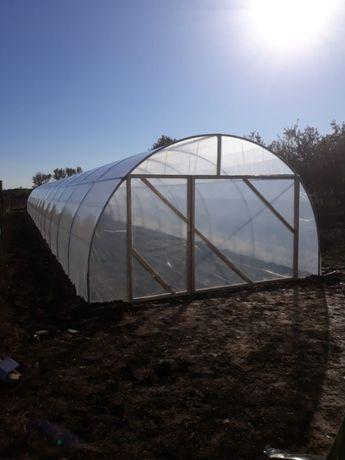 Solar Profi-Otel Zincat KZ 26 m lungime x 4 m latime x 2.5 m inalt