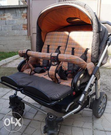 Бебешка количка за близнаци Hartan ZXII
