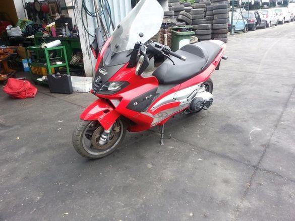 Мотоциклет скутер Джилера нексус (gilera NEXUS ) 500 i на части