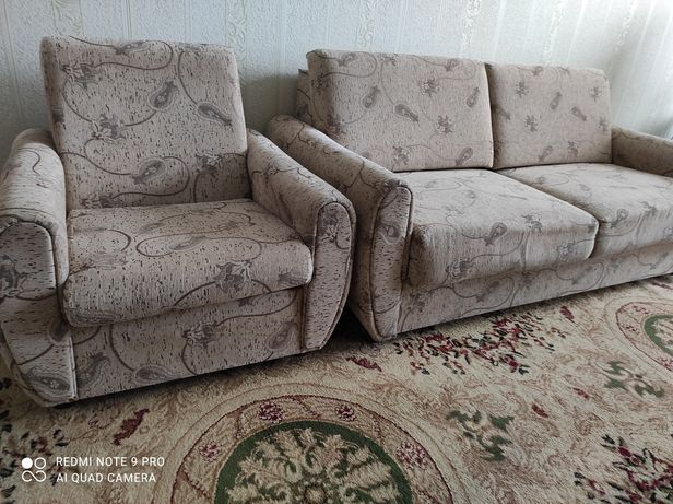 Продаю мягкую мебель