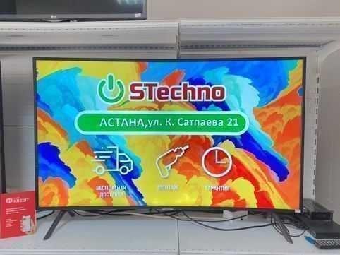 TV SAMSUNG SMART UE49NU7300U Рассрочка 12м! KASPI RED!Гарантия 1 год !