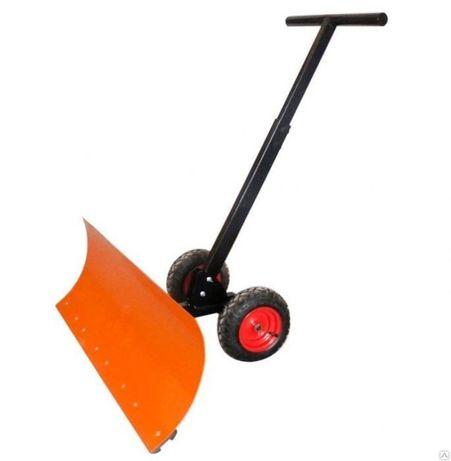 Лопата для уборки снега на колесах - Шустрик