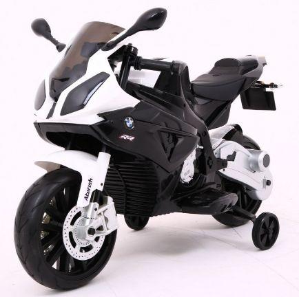 Motocicleta electrica pentru copii BMW S1000RR (JT528) Negru