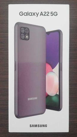 Telefon Samsung Galaxy A22, Dual SIM, 64GB, 5G, grey, in folie