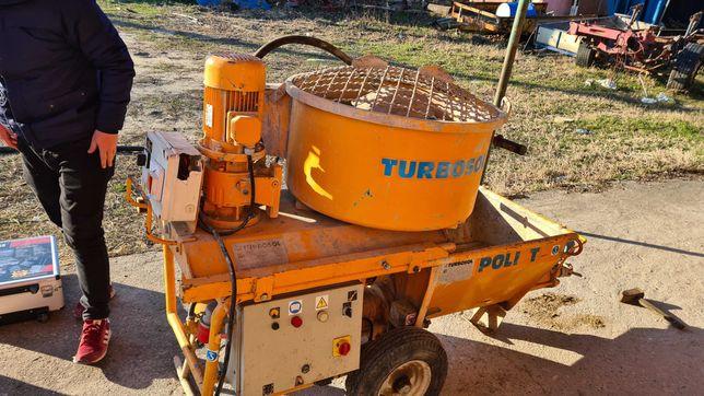 Turbosol,masina de tencuit,turbosol poly t,masina tencuiala traditiona